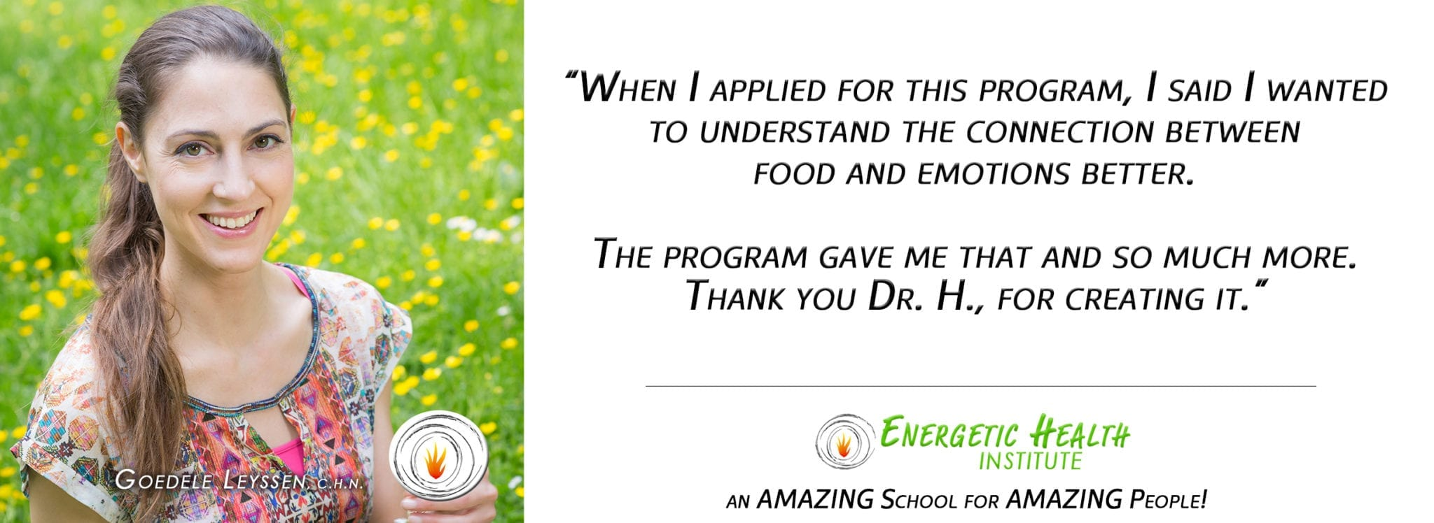 Holistic Nutrition Specialist Certification | Energetic